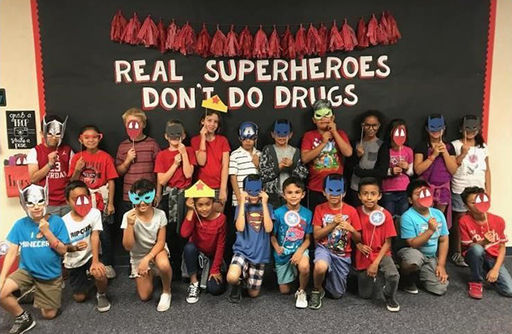 Glen Yermo Students Celebrate Healthy and Drug Free Lifestyles