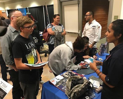 SVUSD Career Fair Connects Students to Career Pathways