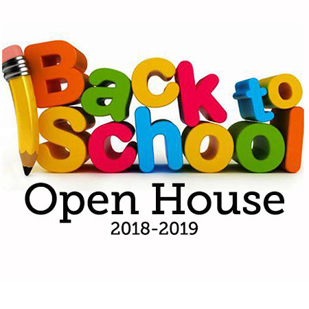 Back to School Night Sept. 26, 2018