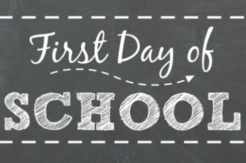 First Day of School 8/26/19
