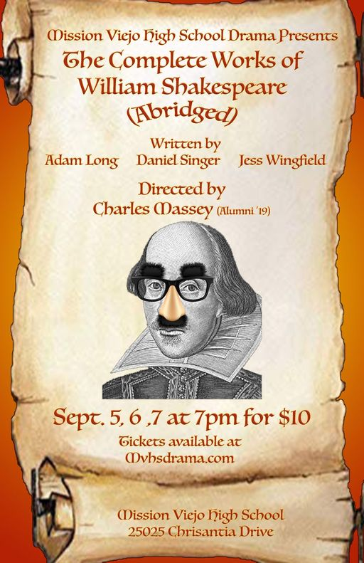"""Shakespeare Abridged"" Play"
