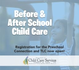 Child Care Services Fall Registration: Now Live