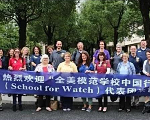La Paz Intermediate Principal Visits China For Schools To Watch