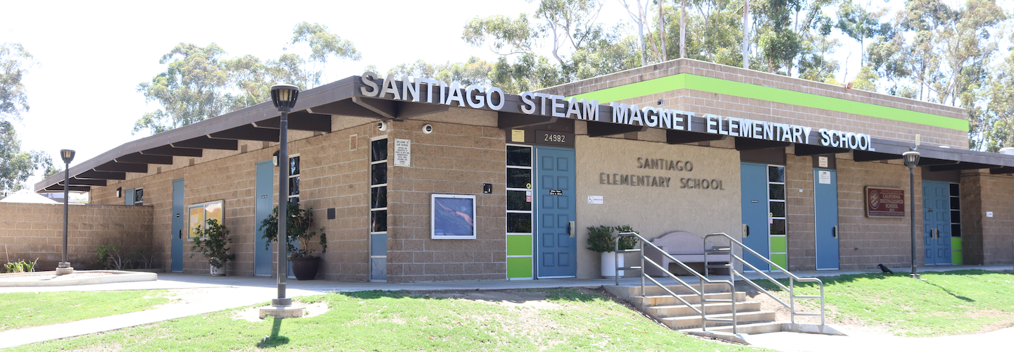 Front of Santiago Elementary