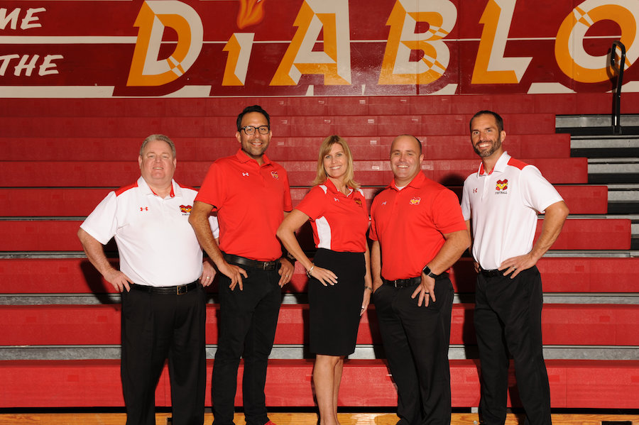 MVHS's administration team