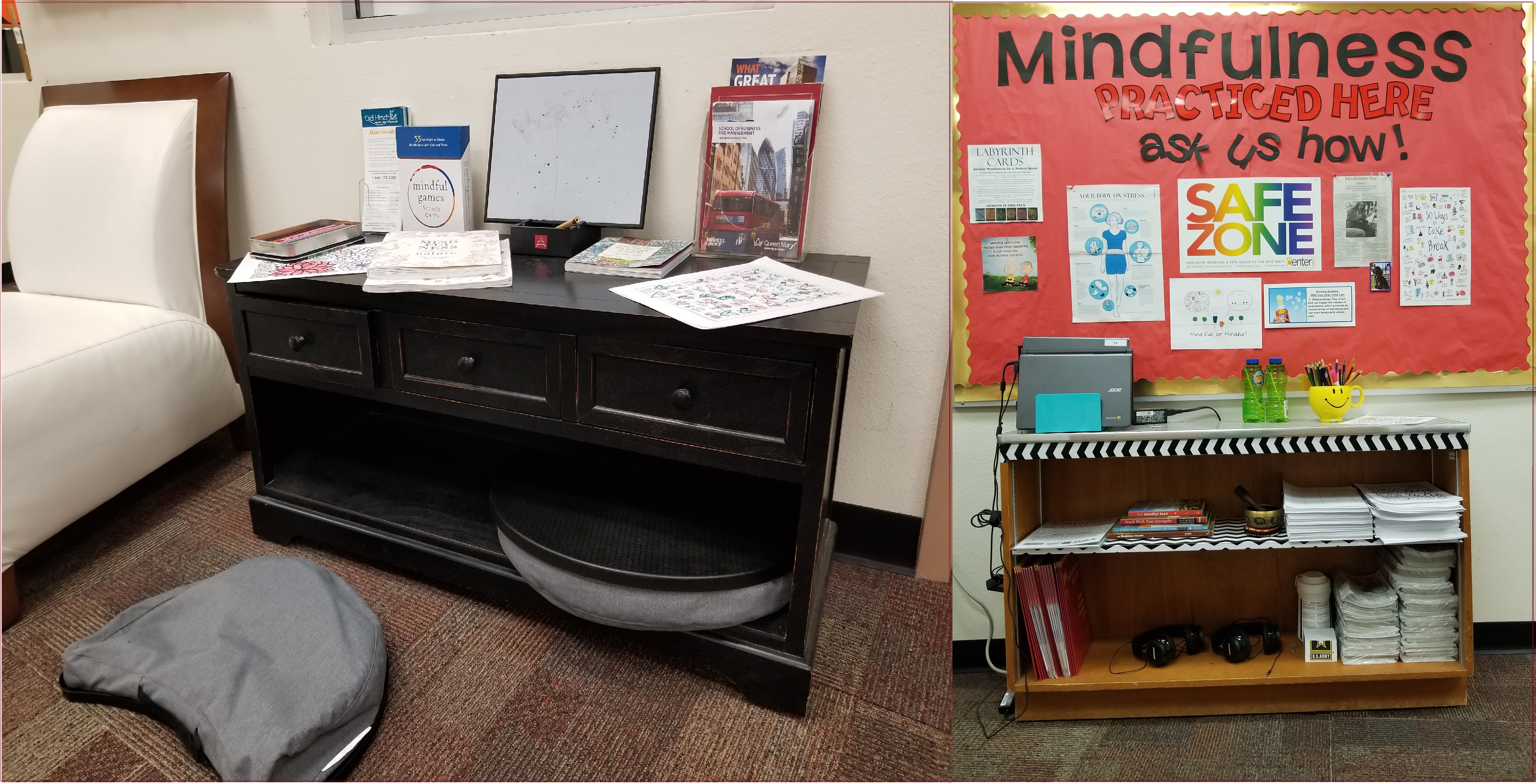 Mindfulness Resources in the Guidance Office