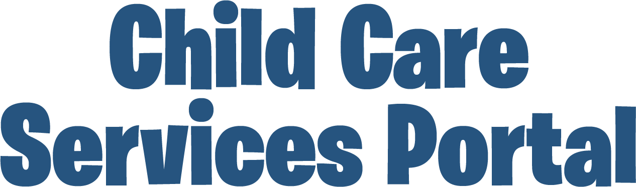 Child Care Services Portal
