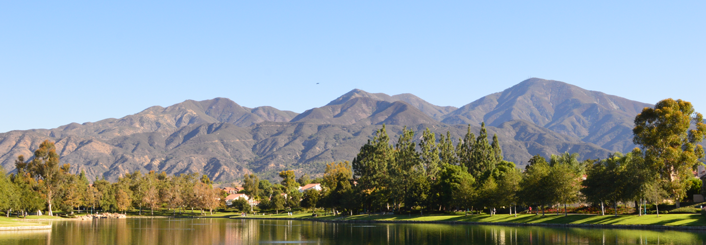Saddleback Mountains overlooking RSM Lake
